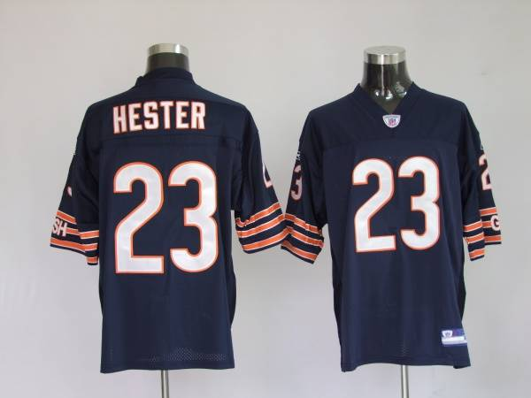 Bears #23 Devin Hester Blue Stitched Youth NFL Jersey