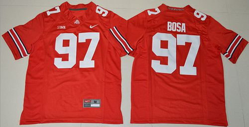Buckeyes #97 Joey Bosa Red Stitched Youth NCAA Jersey