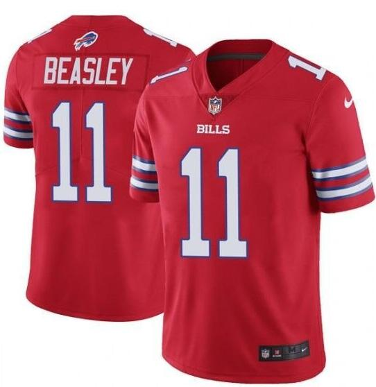 Youth Buffalo Bills #11 Cole Beasley Red Vapor Untouchable Limited Stitched NFL Jersey