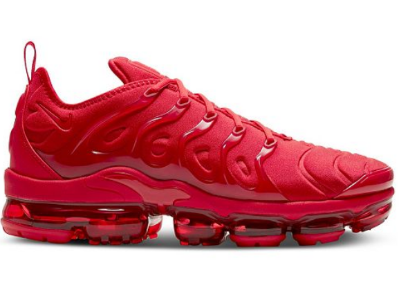 Women's Air VaporMax Plus Triple Red 020
