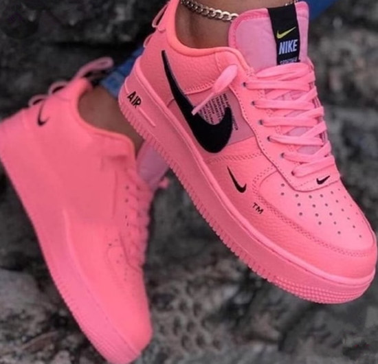 Women AJ Pink Shoes 20191228112