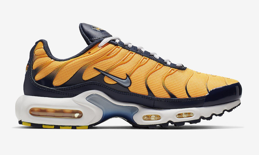 Men's Running weapon Nike Air Max Plus Navy Orange Shoes