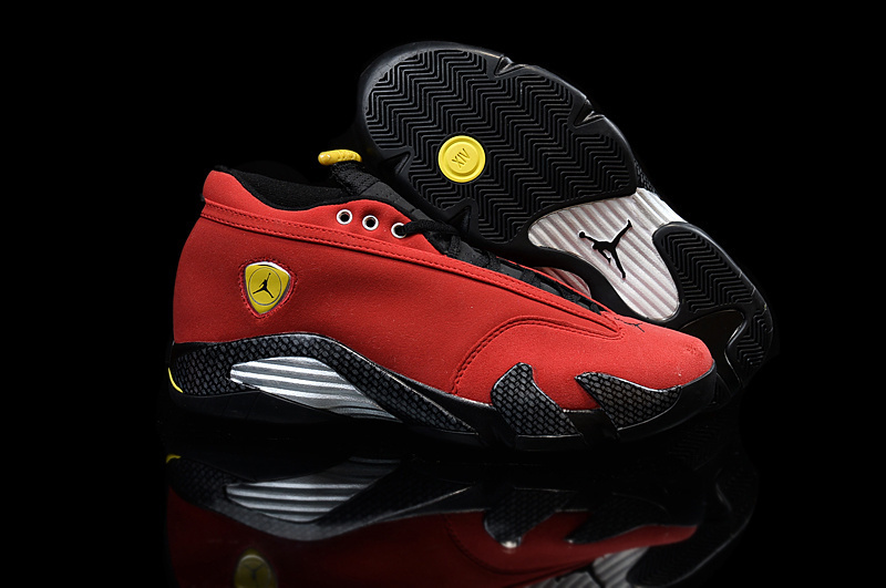 Running weapon Cheap Wholesale Air Jordan 14 Retro Women Red