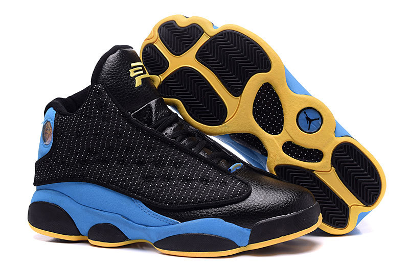 Running weapon China Air Jordan 13 Chris Paul Black/Purple/Yellow