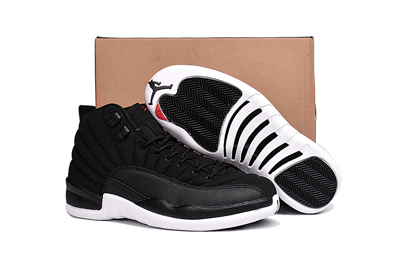Running weapon Chepaest Air Jordan 12 Shoes Retro Men Black/White