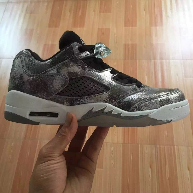 Running weapon Cheap Air Jordan 5 All Star Shoes Retro Low Metallic