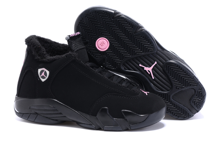 Running weapon Wholesale Air Jordan 14 Velvet Lining Women's Shoes Cheap