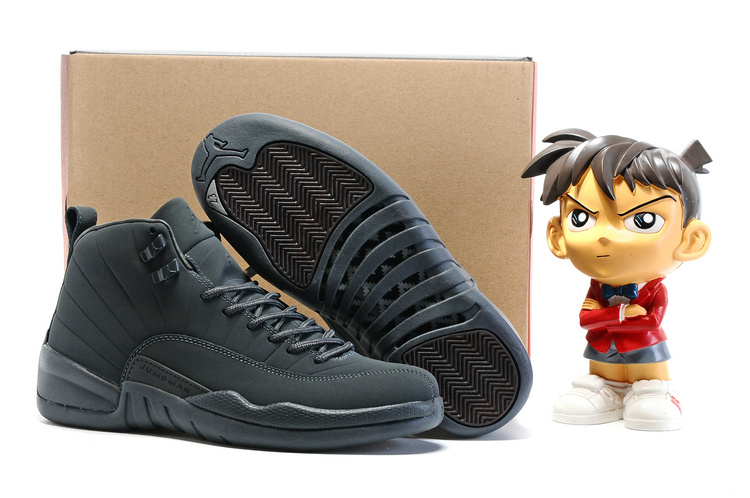 Running weapon Cheap Wholesale Air Jordan 12 Retro Men Ash Grey
