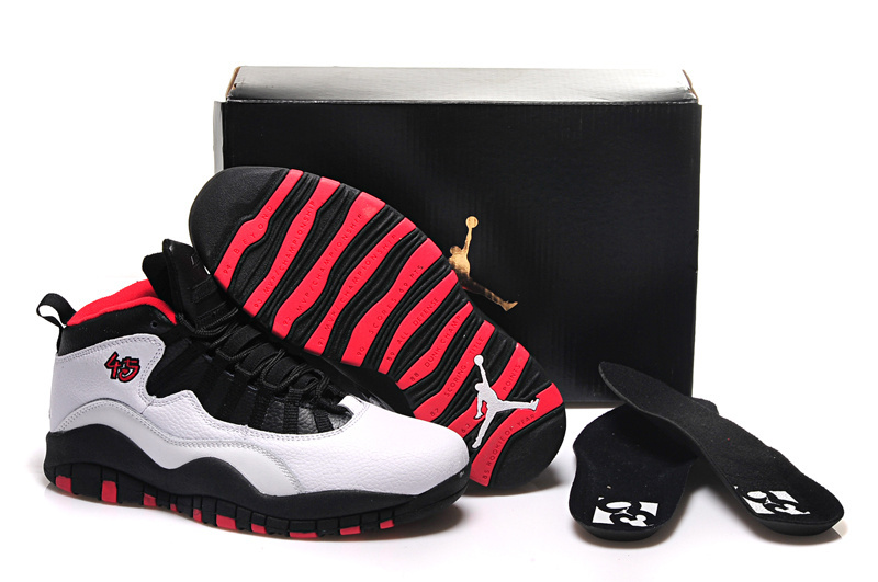 Running weapon Cheap Nike Shoes Wholesale Air Jordan 10 Bulls Over Broadway