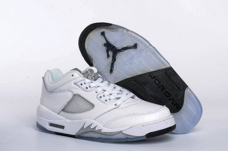 Running weapon Cheap Air Jordan 5 Shoes Retro Women White