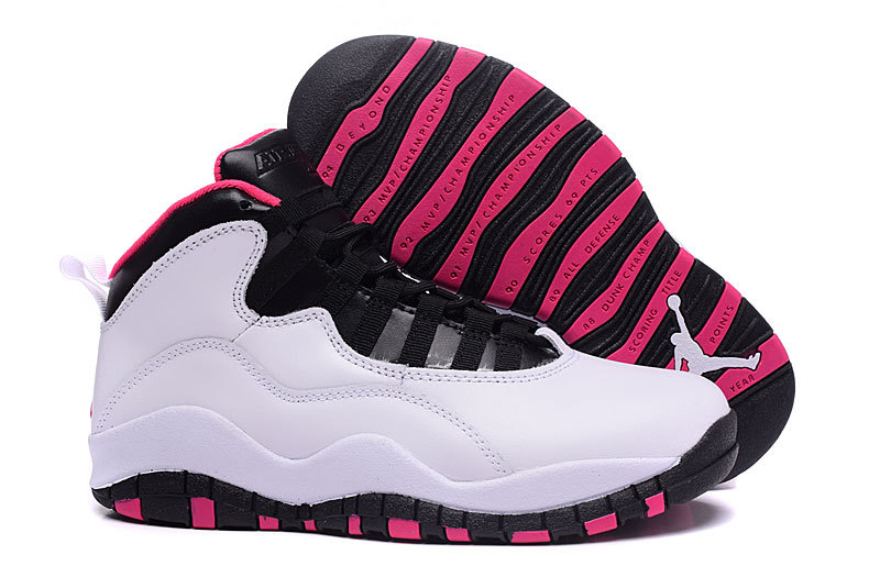Running weapon Cheap Air Jordan 10 Retro Shoes Women