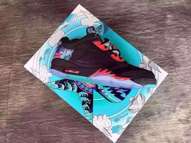 Running weapon Cheap Air Jordan 5 Kite Shoes Women Wholesale