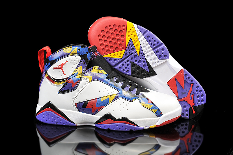 Running weapon Cheap Wholesale Air Jordan 7 Nothing But Net