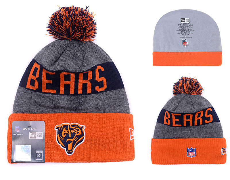 NFL Chicago Bears Stitched Knit Hats 010