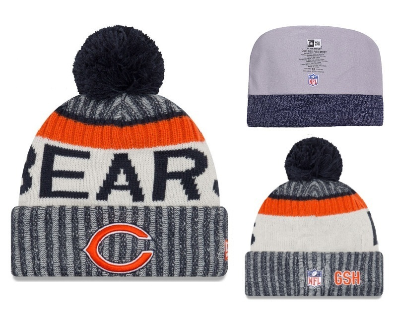 NFL Chicago Bears Stitched Knit Hats 001
