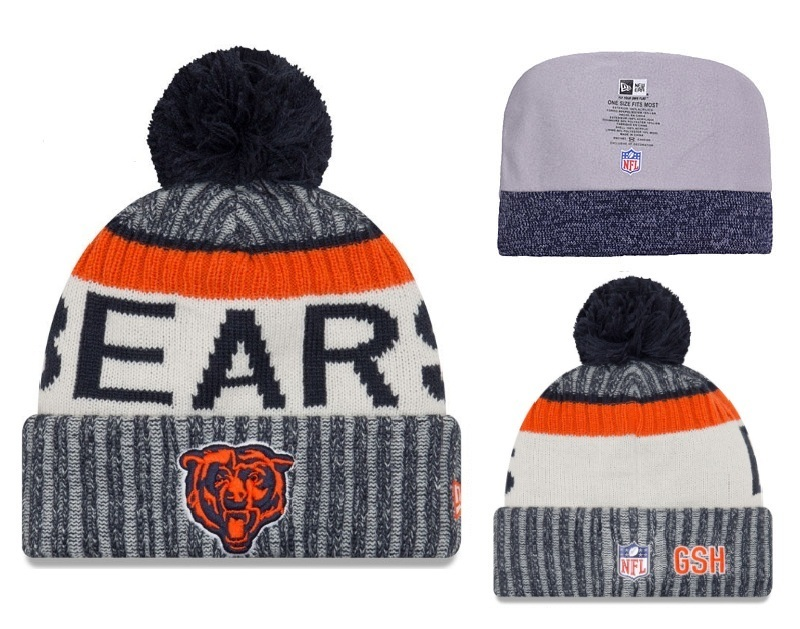 NFL Chicago Bears Stitched Knit Hats 002