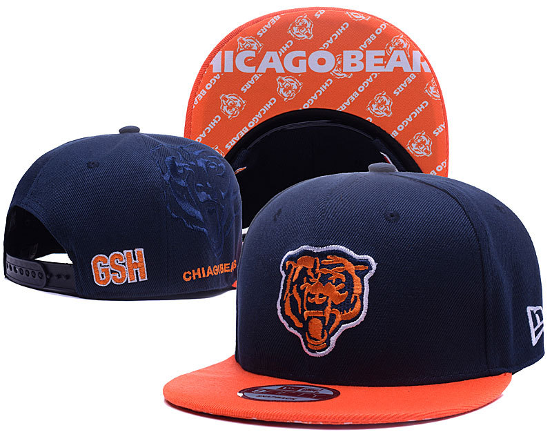 NFL Chicago Bears Stitched Snapback Hats 005