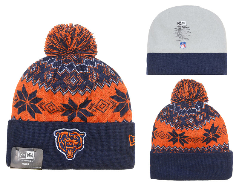 NFL Chicago Bears Stitched Knit Hats 008