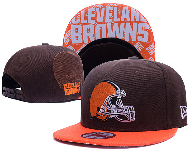 NFL Cleveland Browns Stitched Snapback Hats 005