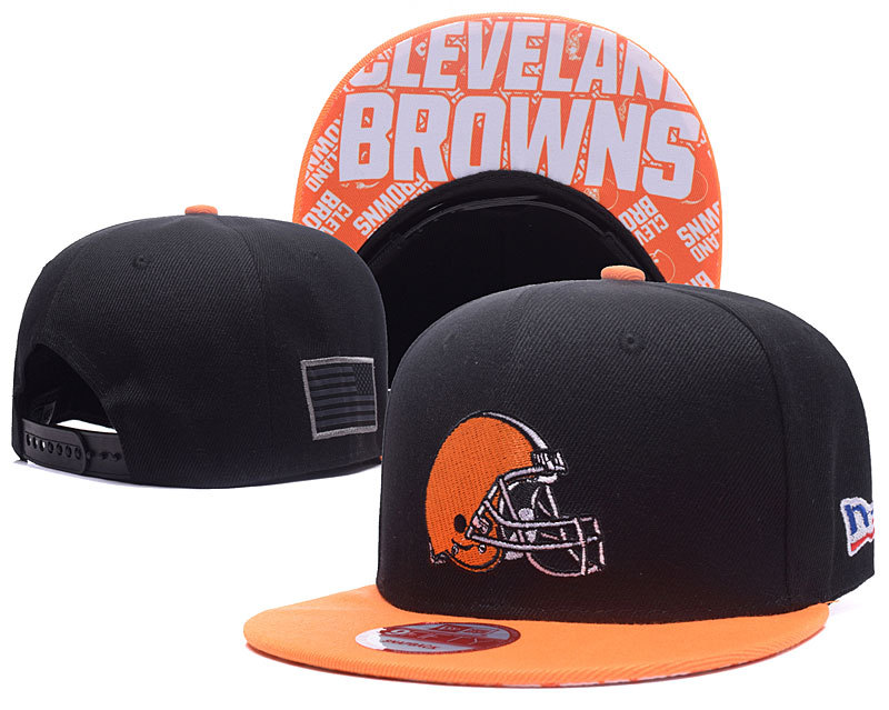 NFL Cleveland Browns Stitched Snapback Hats 006