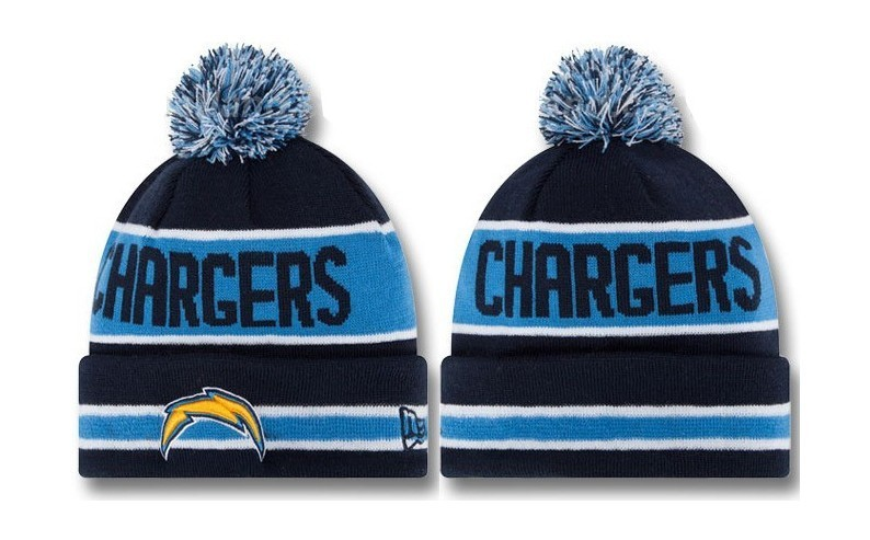 NFL Los Angeles Chargers Stitched Knit Hats 011