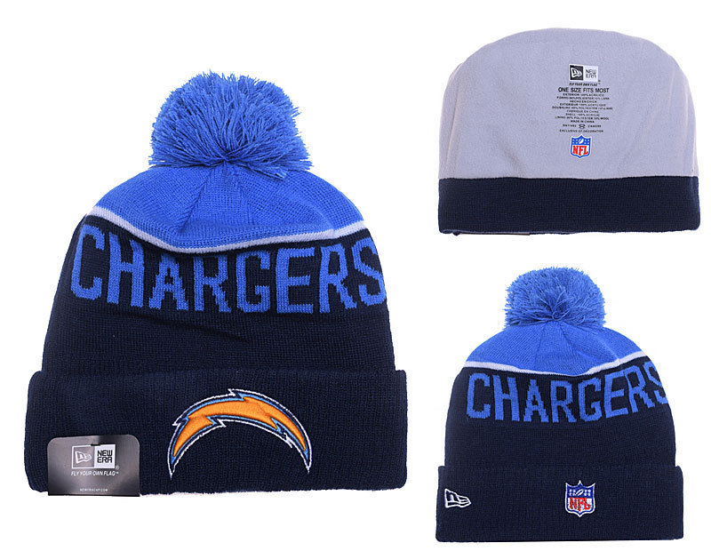 NFL Los Angeles Chargers Stitched Knit Hats 012