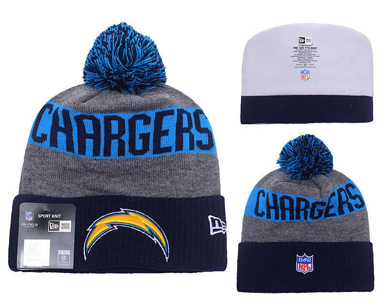 NFL Los Angeles Chargers Stitched Knit Hats 013