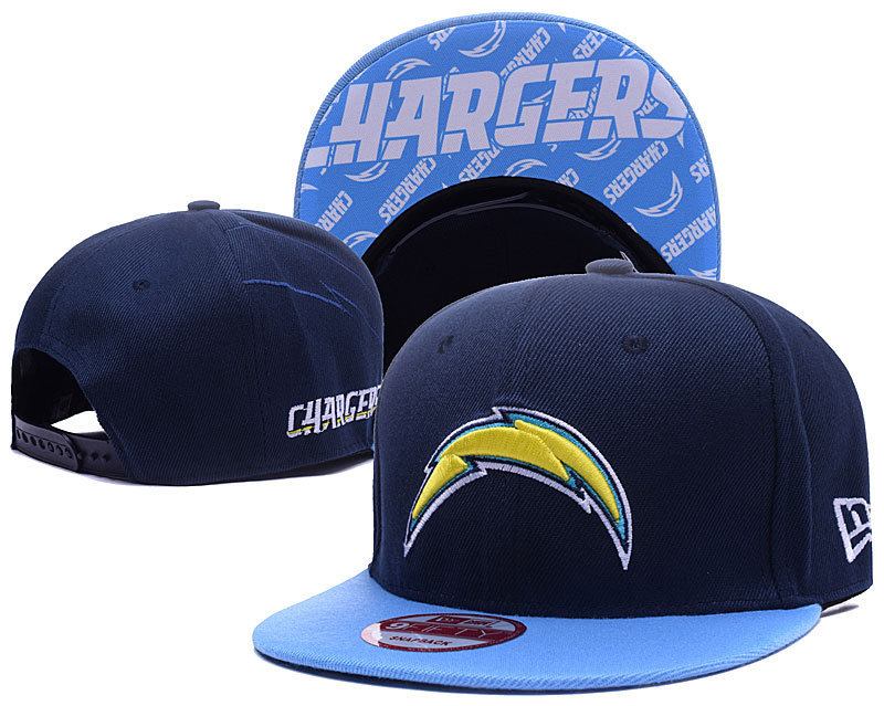 NFL Los Angeles Chargers Stitched Snapback Hats 001