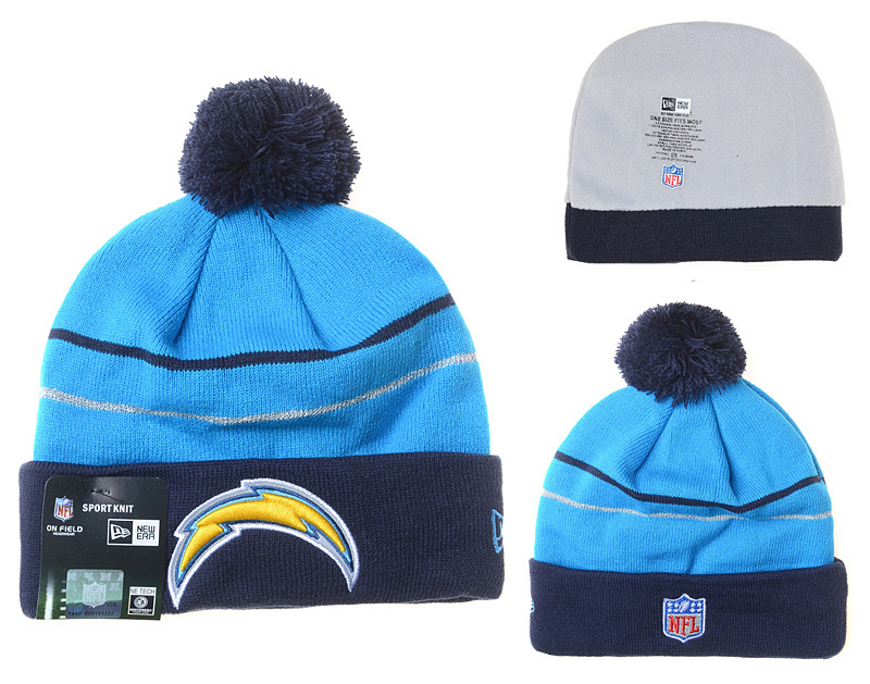 NFL Los Angeles Chargers Stitched Knit Hats 008