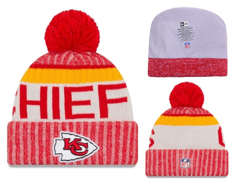 NFL Kansas City Chiefs Stitched Knit Hats 001