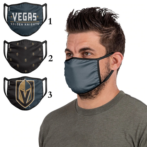 Vegas Golden Knights Sports Face Mask 001 Filter Pm2.5 (Pls Check Description For Details)