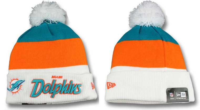 NFL Miami Dolphins Stitched Knit Hats 002