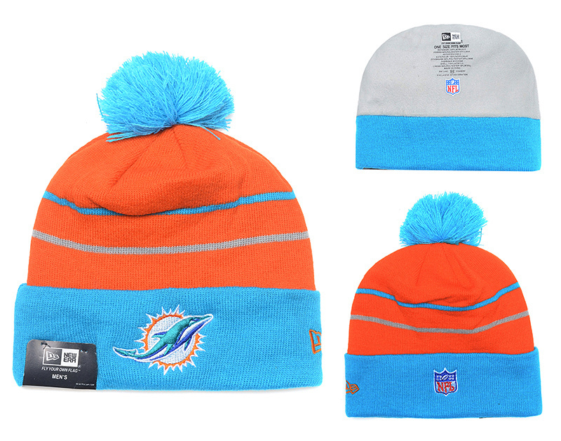 NFL Miami Dolphins Stitched Knit Hats 004