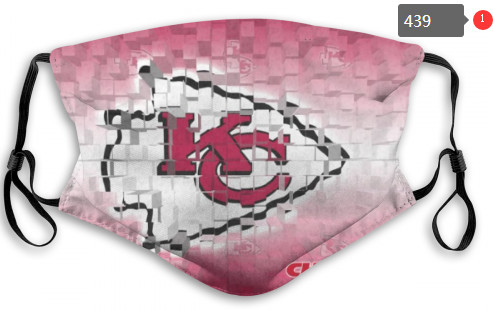 Chiefs Sports Face Mask 0439 Filter Pm2.5 (Pls Check Description For Details)
