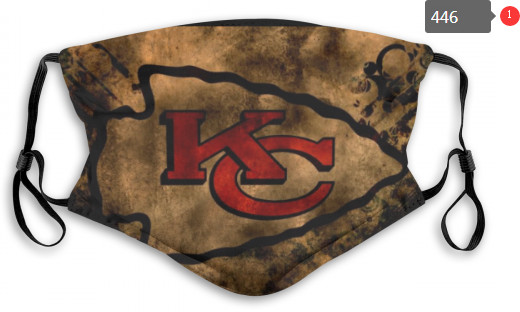 Chiefs Sports Face Mask 0446 Filter Pm2.5 (Pls Check Description For Details)
