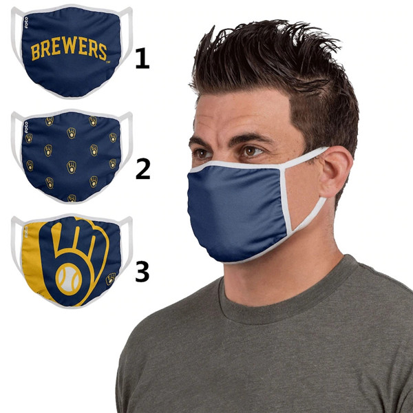 Milwaukee Brewers Sports Face Mask 001 Filter Pm2.5 (Pls check description for details)