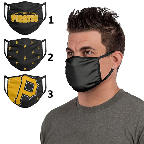 Pittsburgh Pirates Sports Face Mask 001 Filter Pm2.5 (Pls check description for details)