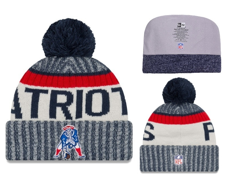 NFL New England Patriots Stitched Knit Hats 002
