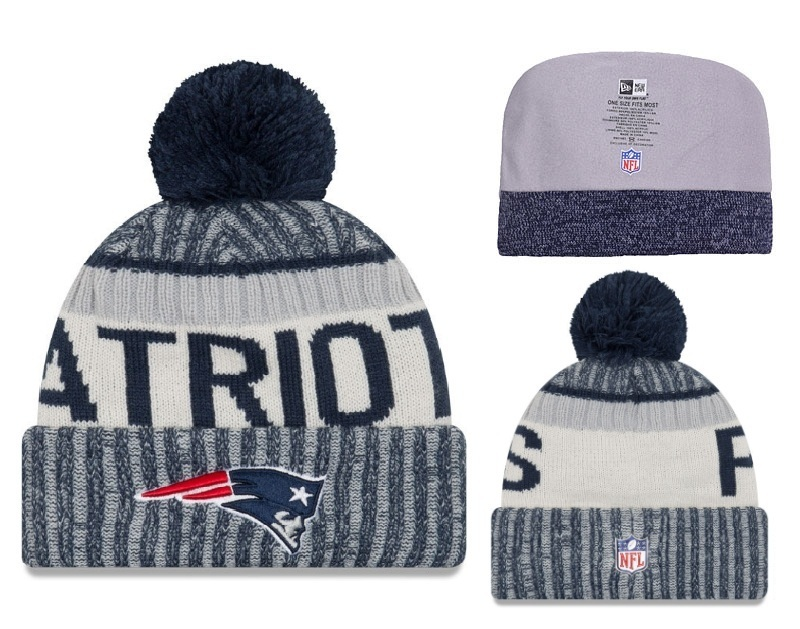 NFL New England Patriots Stitched Knit Hats 003