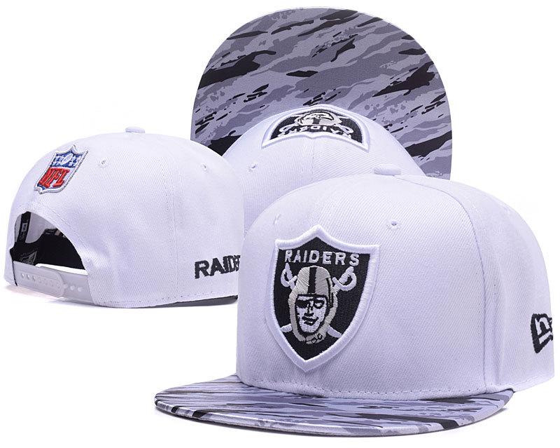 NFL Oakland Raiders Stitched Snapback Hats 015