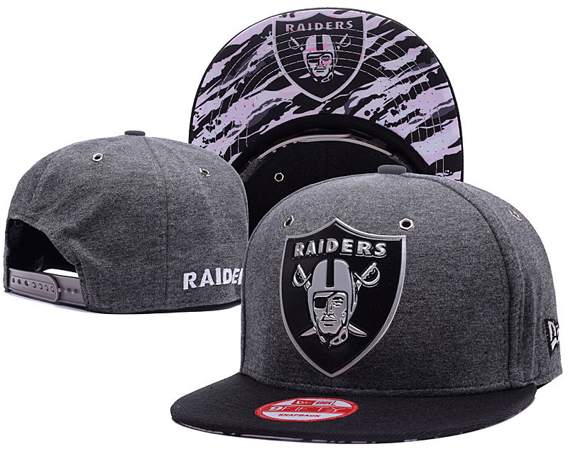 NFL Oakland Raiders Stitched Snapback Hats 016