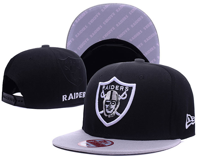 NFL Oakland Raiders Stitched Snapback Hats 019