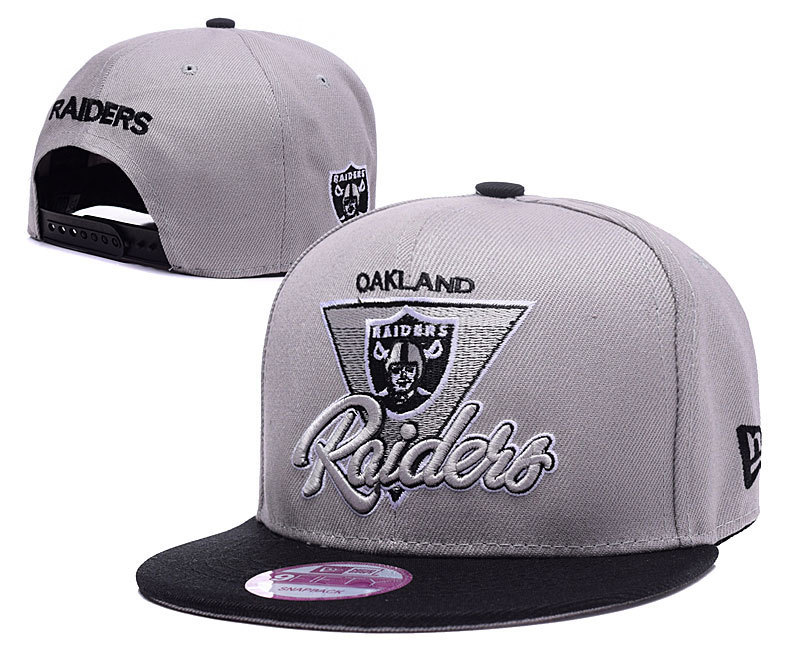 NFL Oakland Raiders Stitched Snapback Hats 020