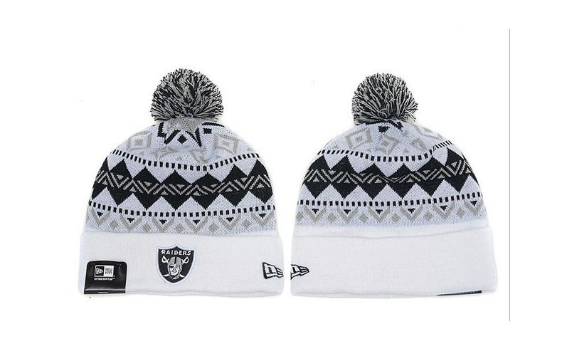 NFL Oakland Raiders Stitched Knit Hats 021
