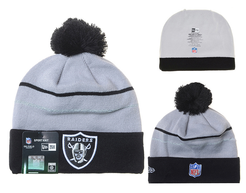 NFL Oakland Raiders Stitched Knit Hats 022