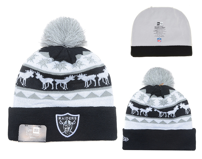 NFL Oakland Raiders Stitched Knit Hats 024
