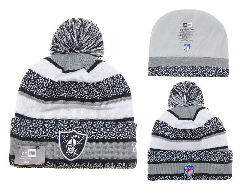 NFL Oakland Raiders Stitched Knit Hats 025