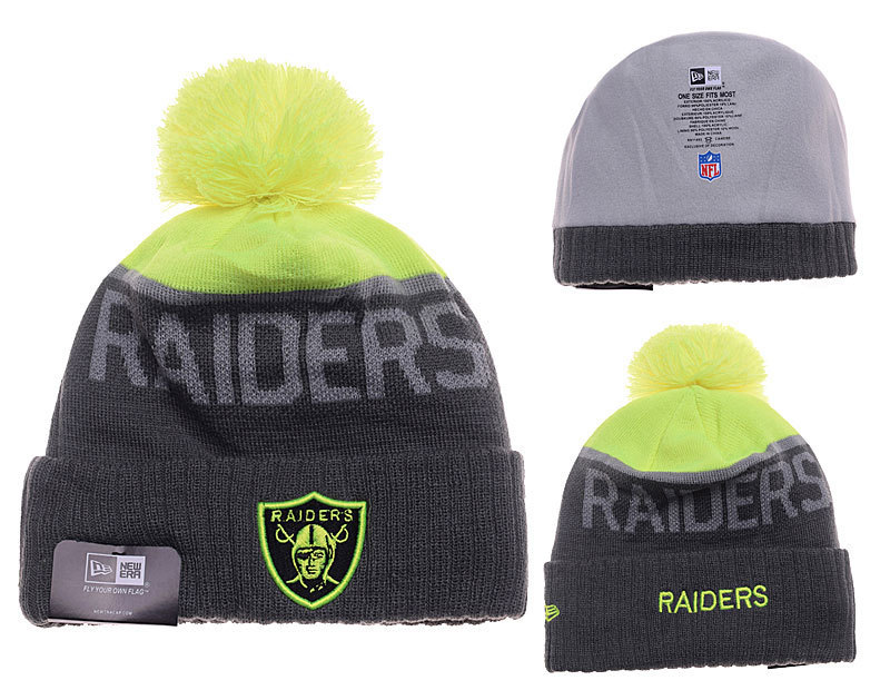NFL Oakland Raiders Stitched Knit Hats 026