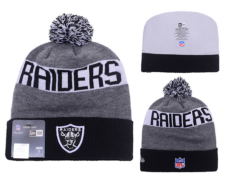 NFL Oakland Raiders Stitched Knit Hats 027