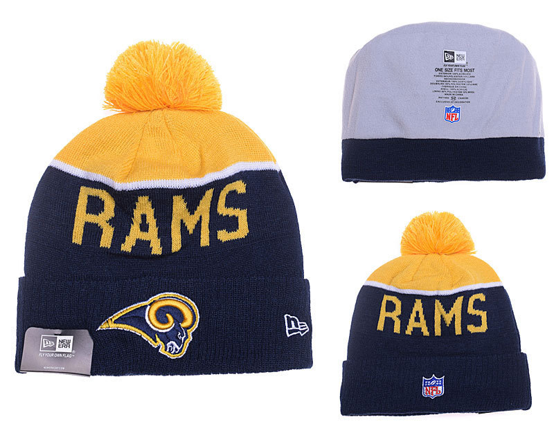 NFL Los Angeles Rams Stitched Knit Hats 012